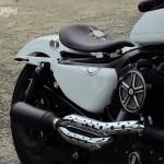 Harley Davidson Sporster Thai, un ensemble très sobre