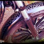 Harley Davidson Sporster Epona, garde boue avant